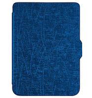 Обложка для электронной книги Pocketbook 616 / 627 / 632 Slim - Scratch Dark Blue