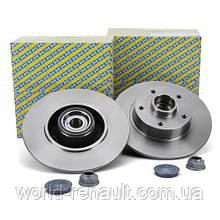 NTN-SNR KF155.110U - Комплект задних тормозных дисков на Рено Сценик III
