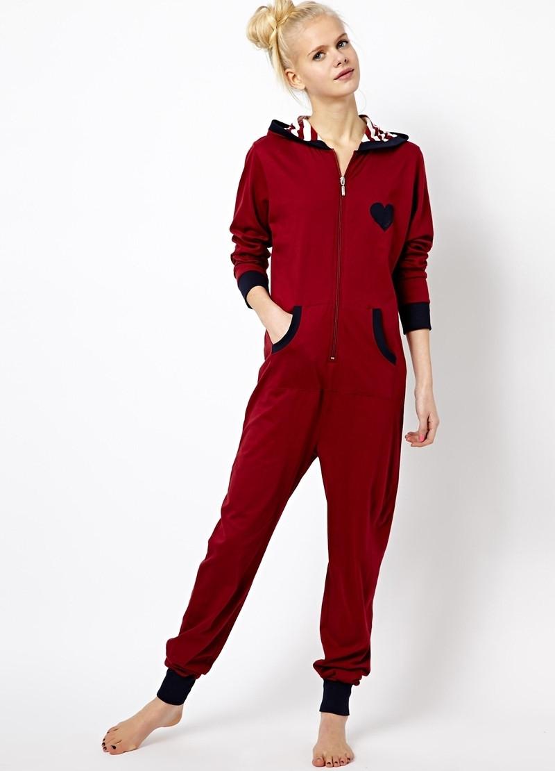 Подростковая домашняя пижама Комбинезон