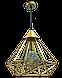 Потолочный подвесной Loft-светильник NL 0541G, фото 2