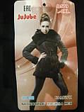 """Лосины женские """"JuJube"""". Бесшовные. На меху. Черные. р. L-6XL, фото 2"""