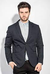 Пиджак мужской классический 197F027 (Темно-синий)