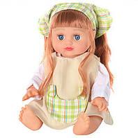 Кукла Алина говорит и поет по русски, 4 вида, в рюкзаке, Joy Toy 5079/5138/41/43
