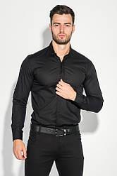 Рубашка мужская классический крой и оттенки 272F045 (Черный)