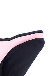 Плавки классические женские 428K001-6 (Черно-розовый)