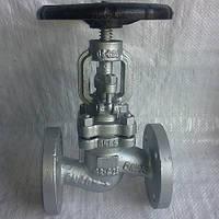 Вентиль сталевий фланцевий Ayvaz GV-40 Ду 15