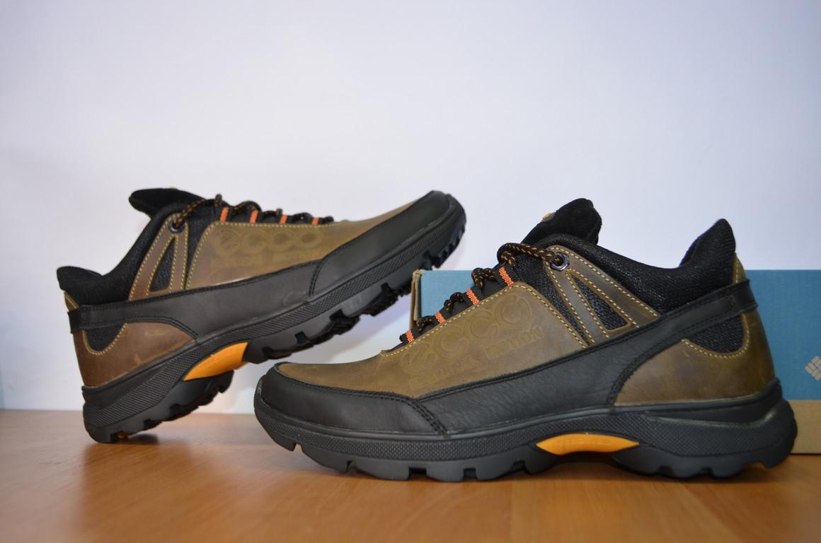 169fed7cd Зимние мужские ботинки Ecco.Натуральная кожа.Низкие кроссовки Эко.Копия