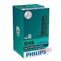 Ксеноновая Лампа PHILIPS 42402XV2C1 D4S X-Treme Vision Gen 2 +150%, фото 1