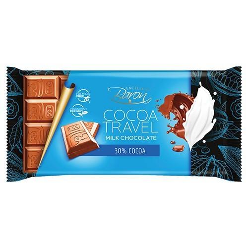 Молочный Шоколад Baron Cocoa Travel 30% COCOA 100 г.