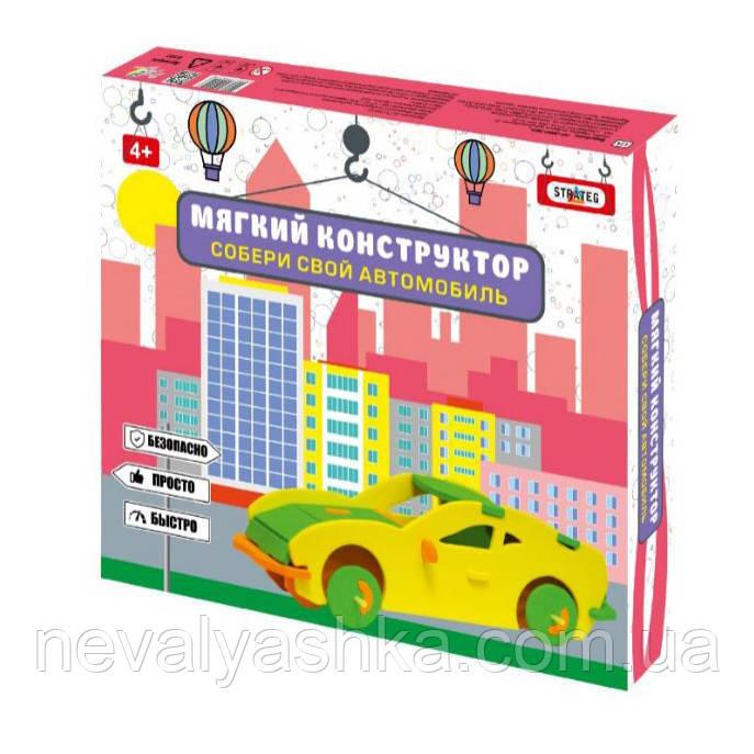 Мягкий конструктор Машинки авто-техника, 6100-6104, 009738