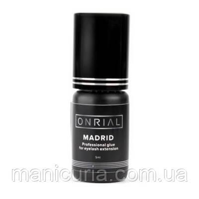 Профессиональный клей Onrial Madrid для наращивания ресниц, 10 мл