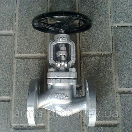 Вентиль сталевий фланцевий Ayvaz GV-40 Ду 100