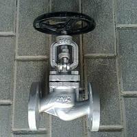 Вентиль сталевий фланцевий Ayvaz GV-40 Ду 100, фото 1