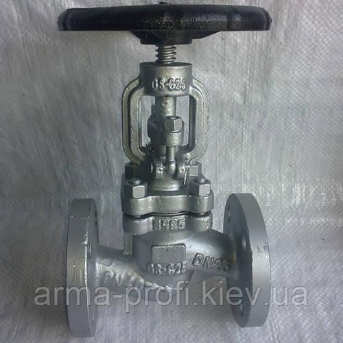 Вентиль сталевий фланцевий Ayvaz GV-40 Ду 150