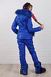 Детский супер тёплый зимний костюм на девочку куртка +брюки ( 5 цветов)  плащевка, синтепон, флис, фото 8
