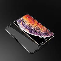Защитное 6D стекло с рамкой для Apple iPhone XS черное