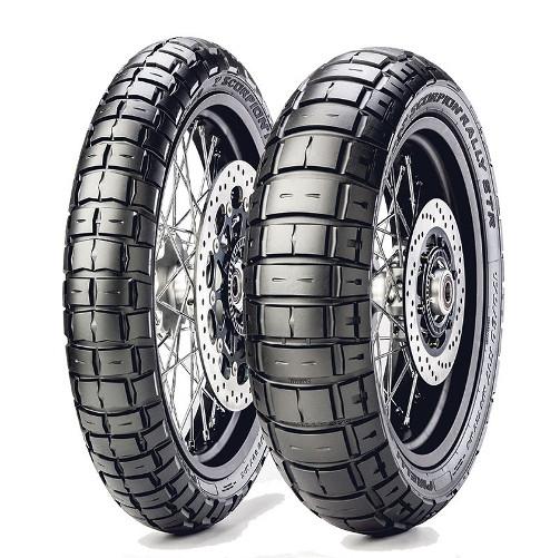 Мото шины PIRELLI SCORPION RALLY STR 110 / 80R19 + 150 / 70R17