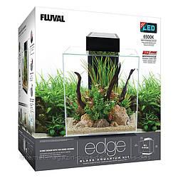 Hagen Fluval Edge 2.0 укомплектованный аквариум черный, 46л