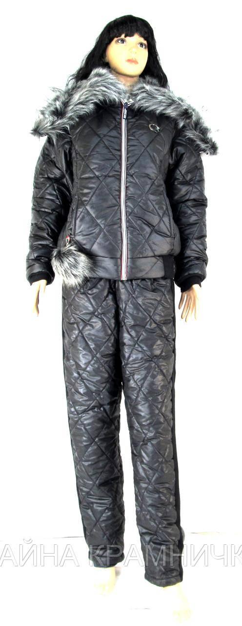 Костюм Зима (куртка+ штани) хутро болон'я