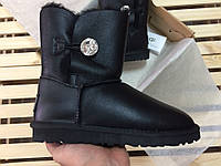 Женские зимние угги UGG AUSTRALIA - bailey button bling i do! black , фото 1