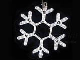 Уличная Гирлянда LED Снежинка 40 см, фото 2