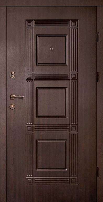Входные двери Редфорт Квадро венге