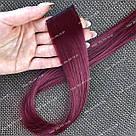 Волосы на заколках цветные мини трессы, магахон, фото 2