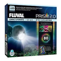 Hagen Fluval Prism Multi-Color Underwater Spotlight LED подводный светильник для морских и пресных аквариумов
