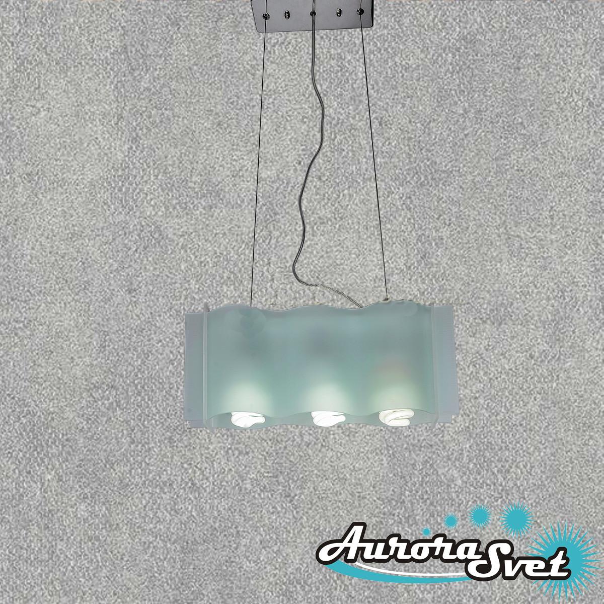 Люстра подвесная AuroraSvet 010. LED светильник люстра. Светодиодный светильник люстра.