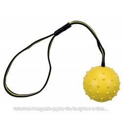 Trixie Sporting Ball аппортировочный мяч для собак желтый 6см