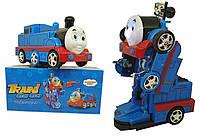 Поезд-трансформер Томас на радиоуправлении Train go go (свет, звук), фото 1