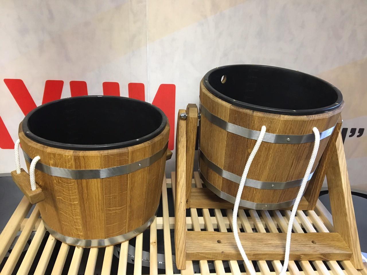 Банный набор (ведро-водопад 20 л и  запарник 20 л) для сауны, бани