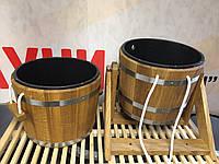 Банный набор (ведро-водопад 20 л и  запарник 20 л) для сауны, бани, фото 1