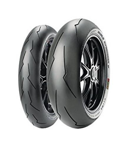 Мото шины PIRELLI SUPERCORSA V2 SP 120 / 70ZR17 + 180 / 55ZR17