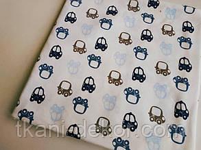 Трикотаж детский (хлопковая ткань) машинки