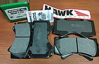 Тормозные колодки передние Hawk серия LTS