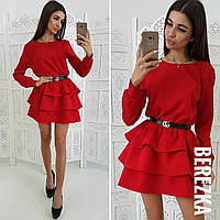 Женское стильное платье с пышной юбкой (2 цвета), фото 1
