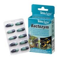 TetraAqua Bactozym капсулы с культурой бактерий для запуска аквариума, 10 капсул