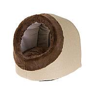 Лежанка  домик для кошек из синтетической ткани Ferplast IMPERIAL 35