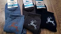 """Шкарпетки жіночі махрові,""""Premium Олені"""", фото 1"""