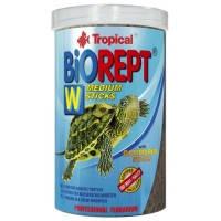 Tropical BIOREPT W многокомпонентные палочки для водных черепах, 20г