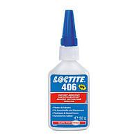 Клей моментальный для пластика и резины LOCTITE 406 50 г