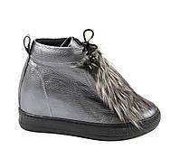 Ботинки женские кожаные. Размер 40