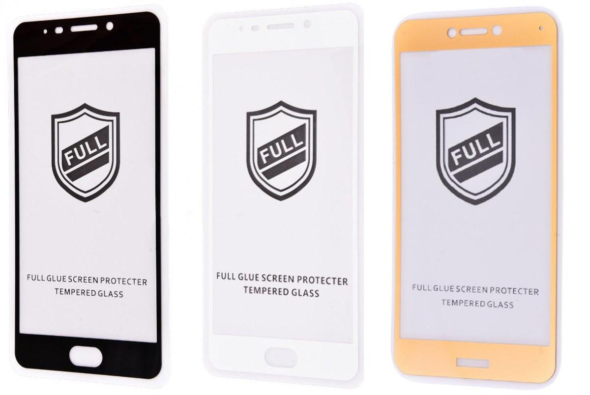 Защитное стекло 3D с полной проклейкой для Samsung Galaxy J6 2018 закаленное