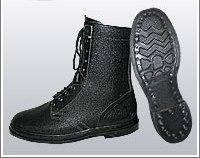 Ботинки (берцы) юфтевые ВФ демисезон Гвоздевые черные, фото 2