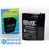 Аккумулятор GDLITE GD-645 (6V4.0AH) Батарея для весов, фонарей, источник питания, фото 2
