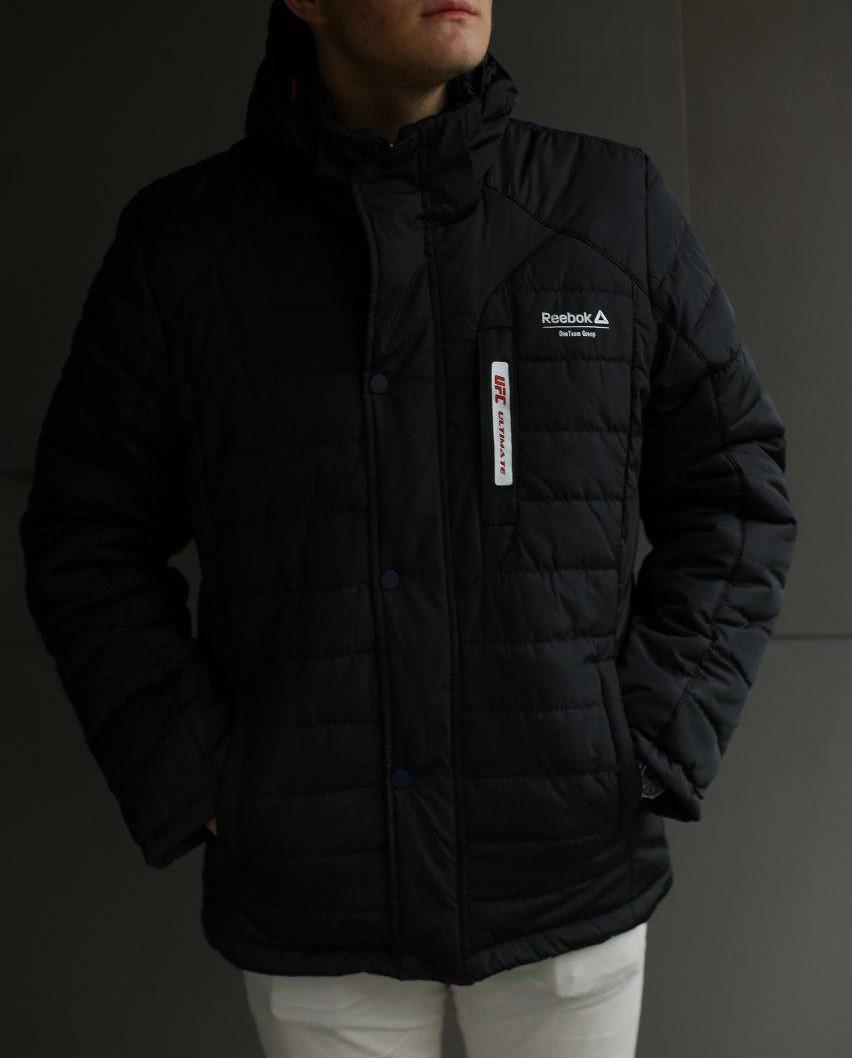 Куртка мужская зимняя Reebok UFC черная