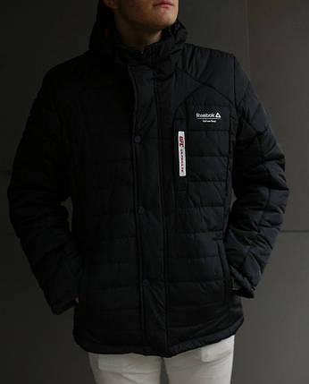 Куртка мужская зимняя Reebok UFC черная, фото 2