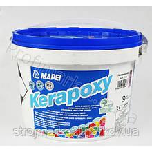 Эпоксидная двухкомпонентная затирка Kerapoxy TM MAPEI 2кг (Италия)