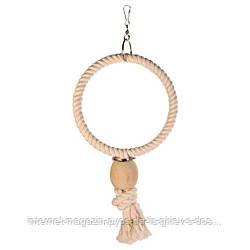 Trixie Rope Ring кольцо веревочное подвесное для птиц 19см